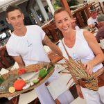 waiters & fish